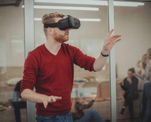 virtual reality spreekangst
